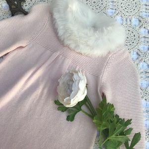 Janie and Jack Dresses - Janie and Jack Faux Fur Sweater Dress